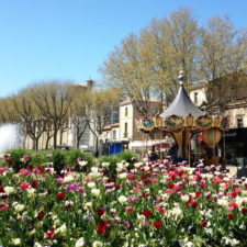 Springtime in Carcassonne